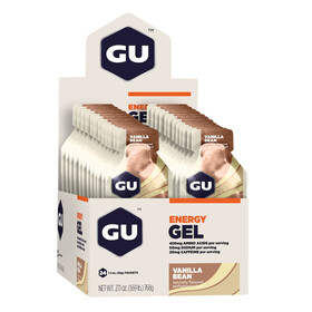 GU Energy Gel Box Vanilla Bean 24 x 32g